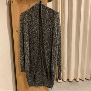Forever 21 heather gray knit cardigan, S.